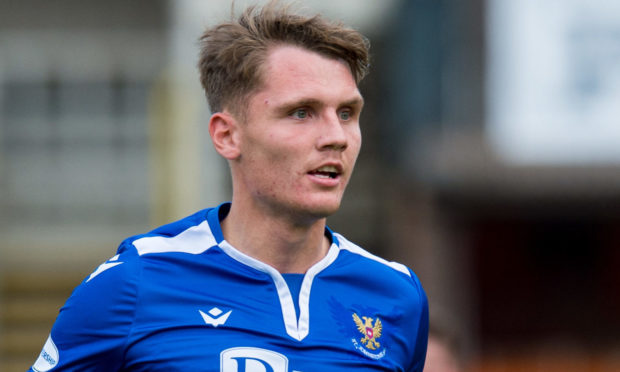 Youth academy graduate Jason Kerr is now St Johnstone captain.