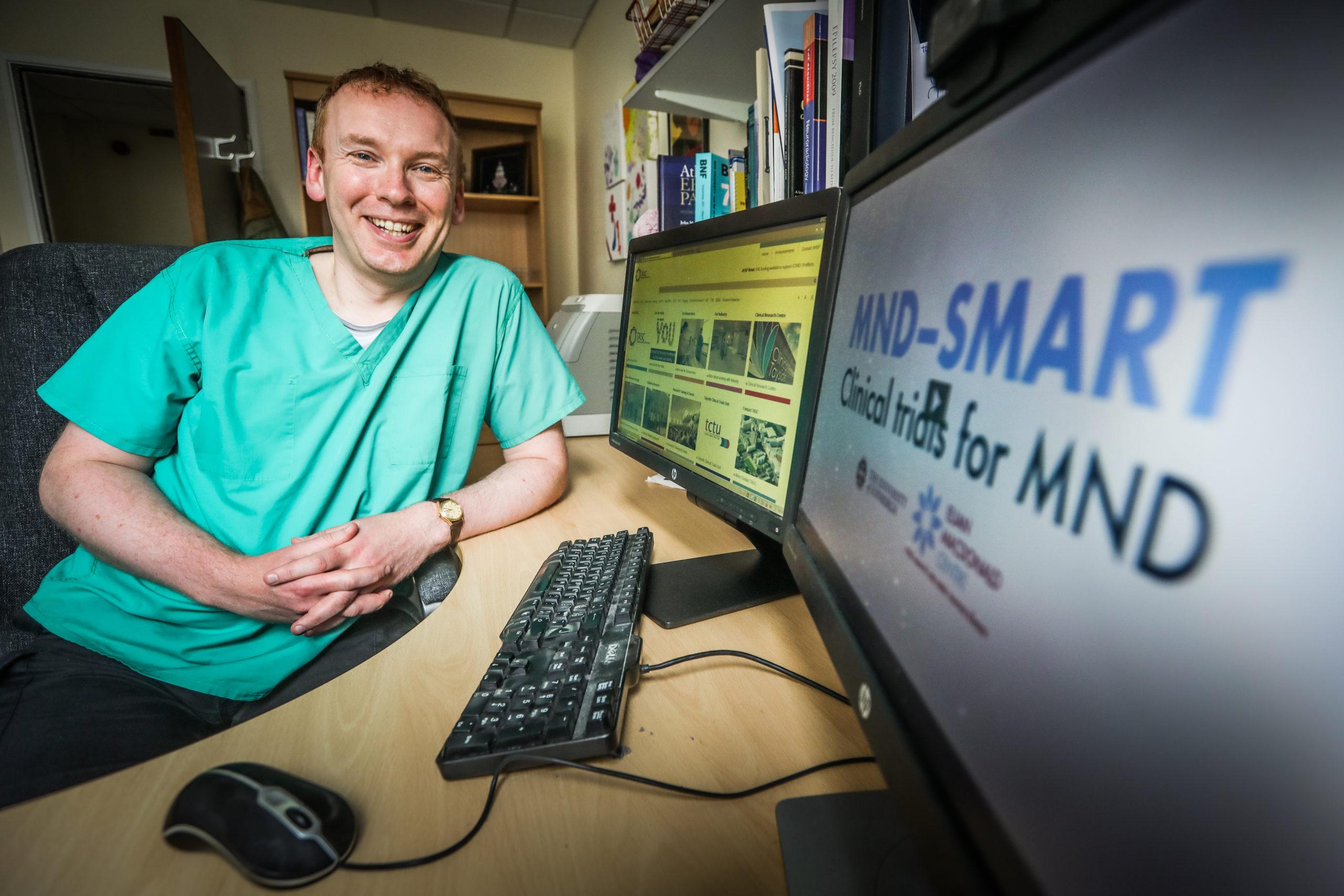 Dr Ian Morrison, Principal Investigator for MND Smart.