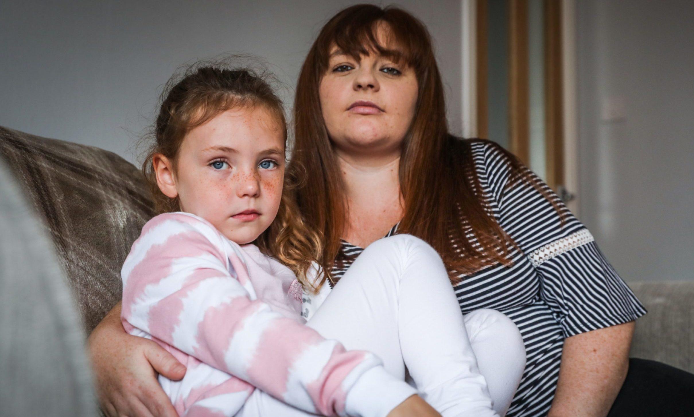 Jade Erskine has kept her daughter Kaitlyn Morris off school over Covid-19 fears.