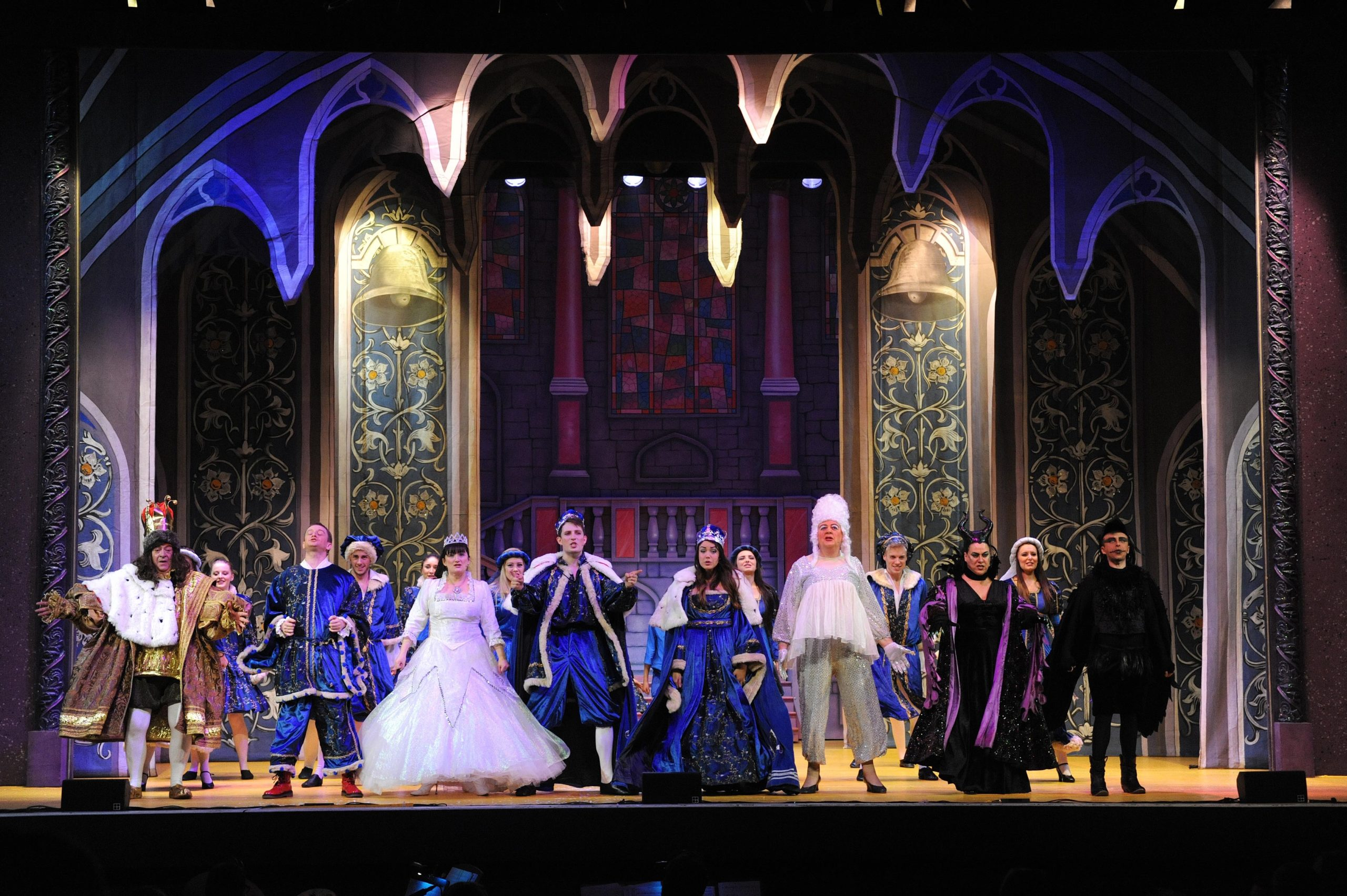 Pantos like 'Sleeping Beauty' at the Alhambra from 2015 are big business - but sadly not this year.  (c) David Wardle