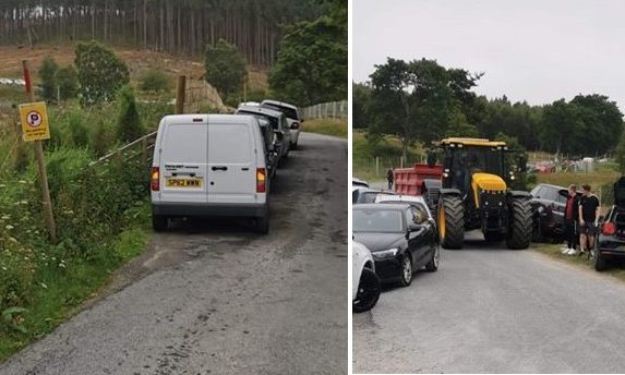 Highland Perthshire roads have been blighted by parking issues