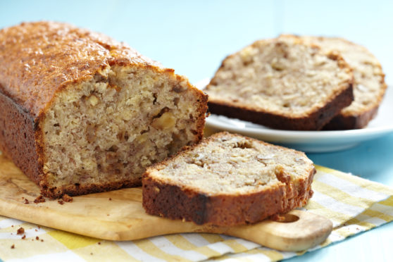 Making a banana loaf was a favourite pastime during lockdown.
