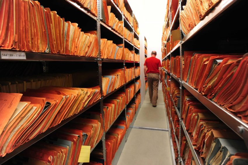 The archives of the former East German secret police, known as the Stasi.