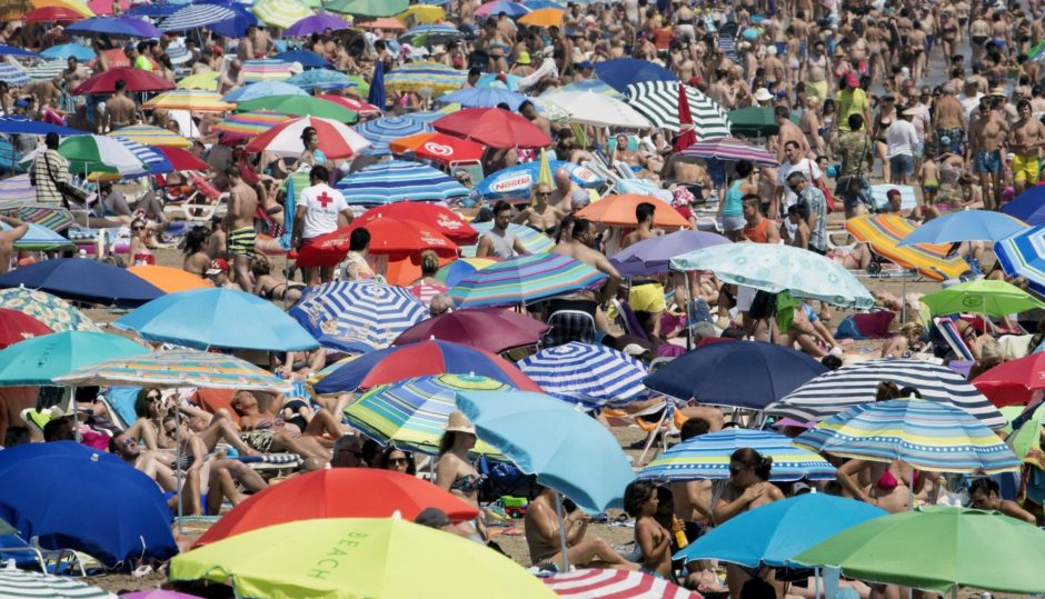 MSPs tended to avoid the crowded beaches of Spain this summer.