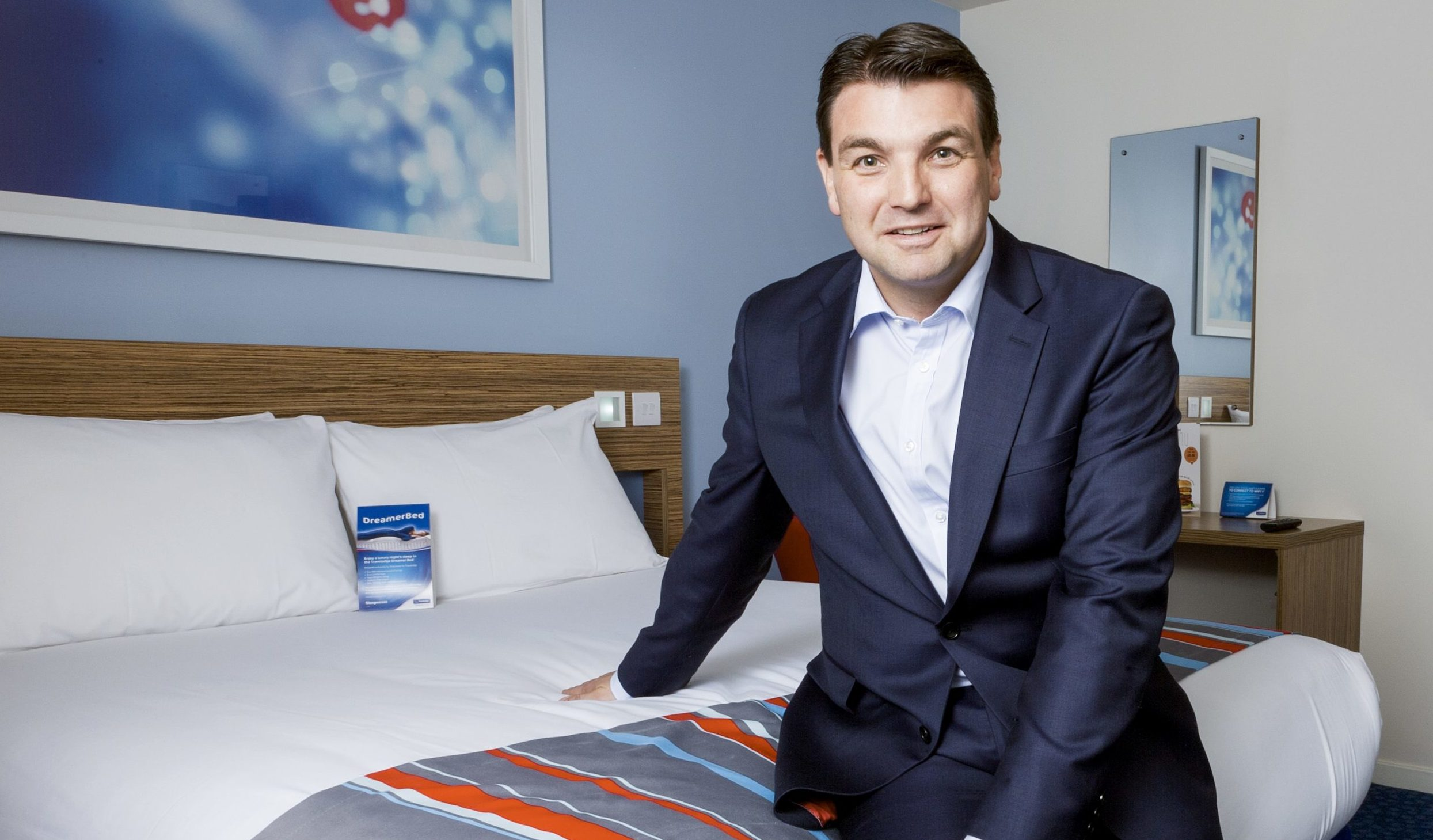 Travelodge chief executive Peter Gowers