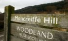 Moncrieff Hill features in the new booklet.
