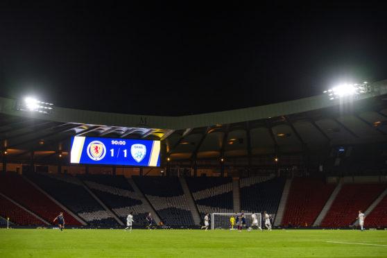 Scotland drew 1-1 with Israel at Hampden last night.
