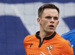 Coventry City receive glowing report on Dundee United star Lawrence Shankland's spectacular strike against St Mirren