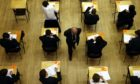 Pupils from deprived backgrounds in Tayside and Fife were less likely to achieve Higher qualifications than those in wealthier areas