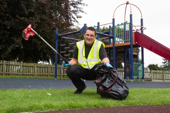 James Anderson is at the forefront of the Angus litter fight