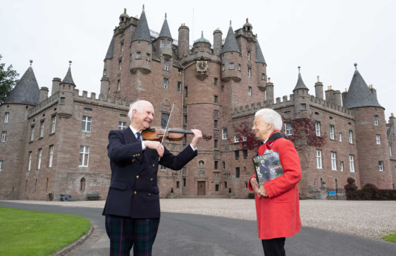 Mary, Dowager Countess of Strathmore is making a visit to the family home of Glamis Castle to meet with Sandy to pick up a copy of the latest volume
