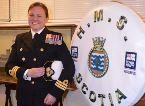 Commander Laura Wellington.