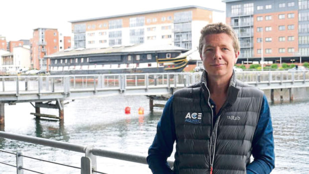 Ace Aquatec Managing Director, Nathan Pyne-Carter