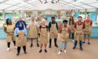 Contestants from left: Hermine, Sura, Rowan, Marc, Laura, Linda, Mak, Dave, Loriea, Lottie, Mark and Peter.