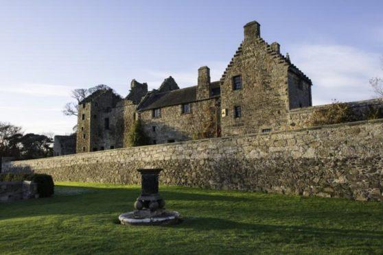 Aberdour Castle.