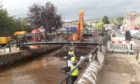 Work carried out on Alyth Burn following flooding