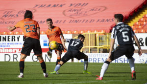 ANALYSIS: Dundee United striker Lawrence Shankland's superb strike missed one thing – the roar of the crowd