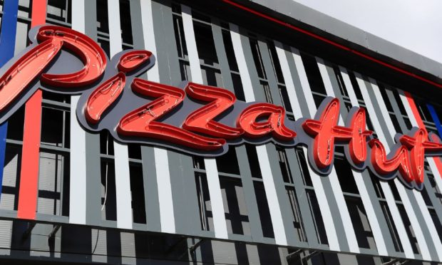 A Pizza Hut restaurant.