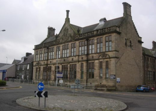 The former Carnegie Clinic in Dunfermline.