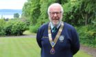 Clive Murray, current Dundee Rotary Club president.