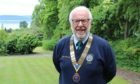 Dundee Rotary Club president Clive Murray