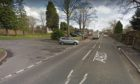 The area the accident happened on Coupar Angus Road. Picture from Google.