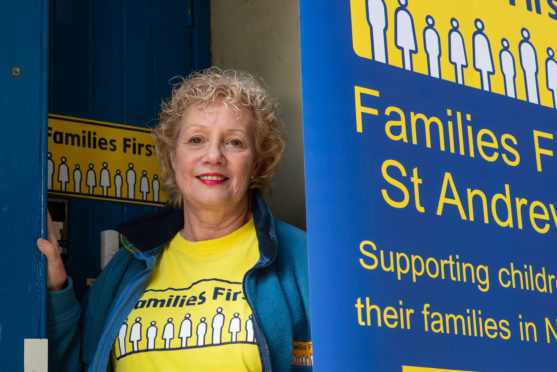 Morag Coleman, manager of Families First in St Andrews.
