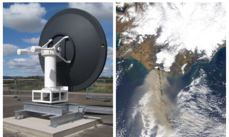 New Tayside satellite facility collects its first NASA images taken from space - The Courier