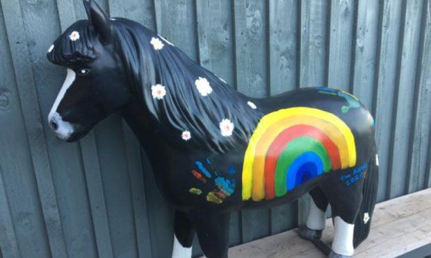 Daisy the Shetland pony