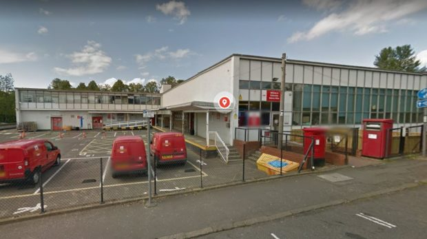 Dunfermline Delivery Office.