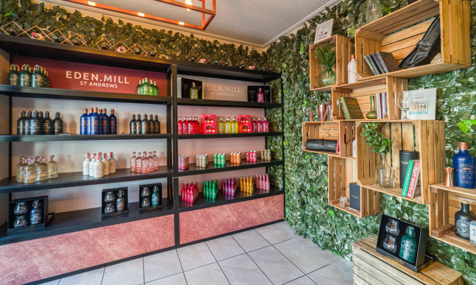 Inside Eden Mill's St Andrews shop
