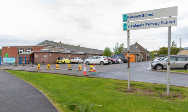 The entrance to Fairview School and Viewlands Primary