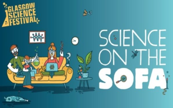Glasgow Science Festival - Science on the Sofa.