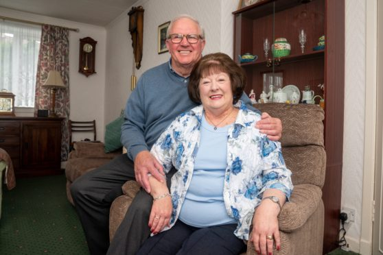 Courier readers helped track down good samaritans Jim and Sylvia Gordon.