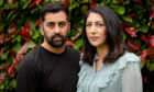 Humza Yousaf and Nadia El-Nakla
