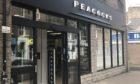 Peacocks in Forfar has closed.