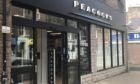 Peacocks store in Castle Street, Forfar has closed.