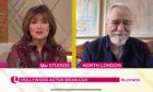 Lorraine Kelly interviewing Brian Cox.