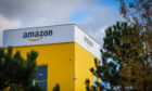 Amazon's Fife distribution centre.