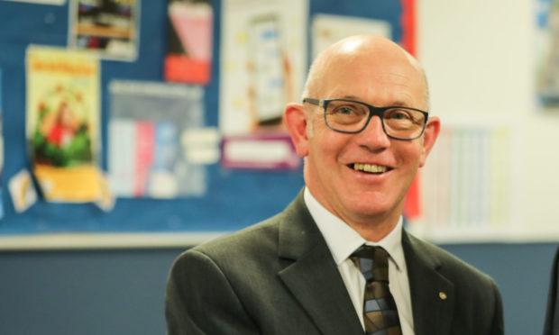 Grove Academy Rector Graham Hutton.