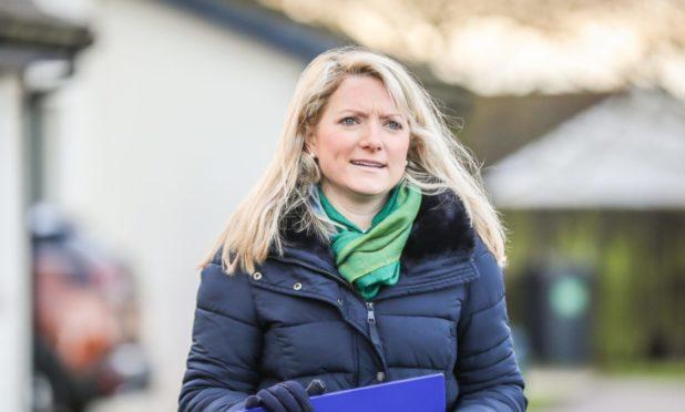Former Angus MP Kirstene Hair.