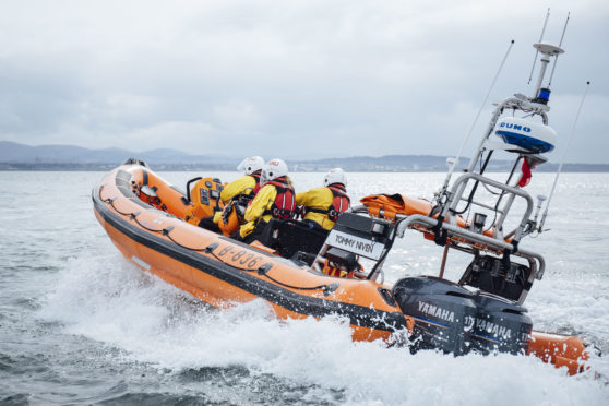 The volunteer crew from Anstruther RNLI were called into action twice over the weekend.