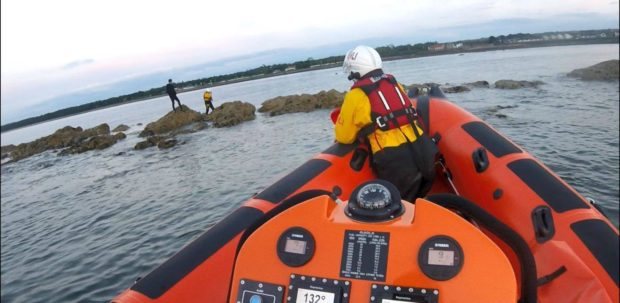 A dramatic sea rescue by Kinghorn RNLI crew features in the BBC 2 series SavingAt Sea this week.