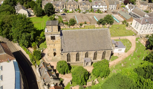 Kirkcaldy Old Kirk is just one of the few still open for physical visits this weekend.