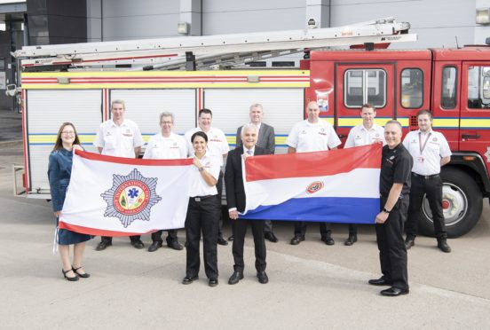 SFRS donate 100th appliance to International Fire and Rescue Association (IFRA)