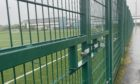 Outdoor facilities at Loch Leven Community Campus remain locked. Picture: Heartland Media and PR.