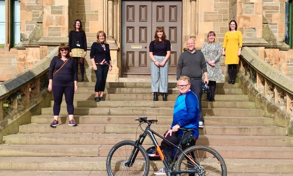 Team Morgan clocking up the miles for MND Scotland - The Courier
