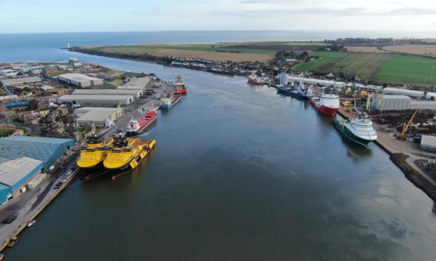 The Port of Montrose.