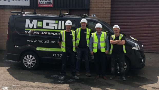 McGill has won a major contract with Govanhill Housing Association.