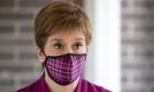 Nicola Sturgeon said face coverings will be made mandatory in the workplace.